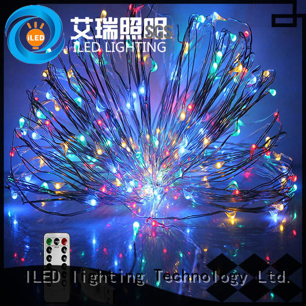 ILED remote copper wire tree lights for wedding