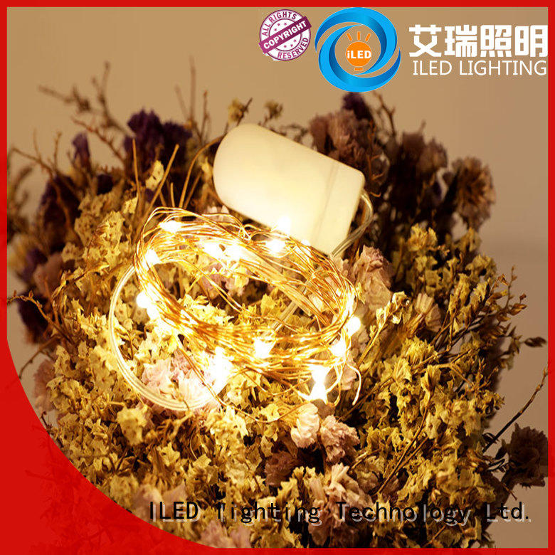 ILED operated battery christmas lights lamp for wedding