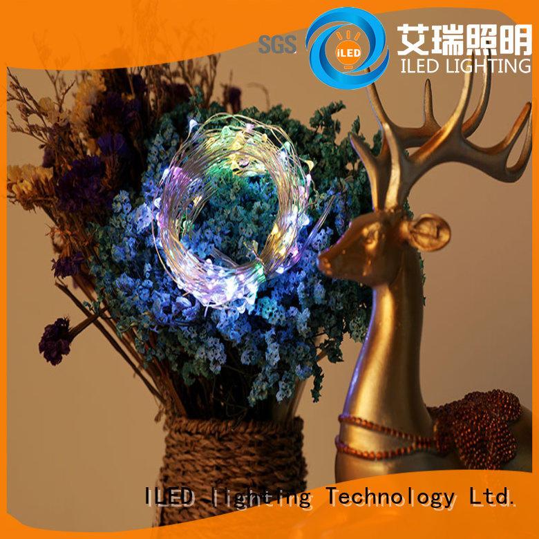 ILED copper christmas lights design for decoration