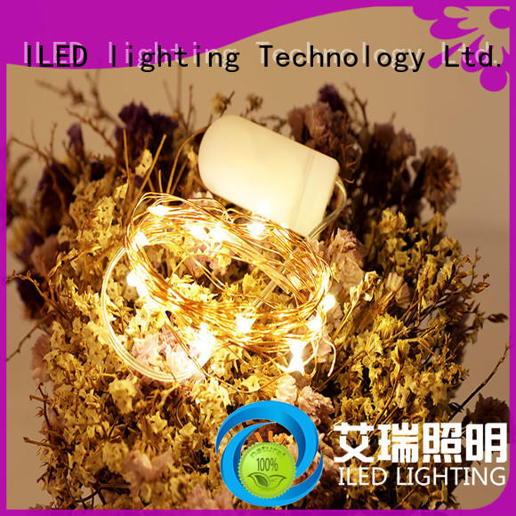 ILED battery operated outdoor christmas lights supplier for outdoor