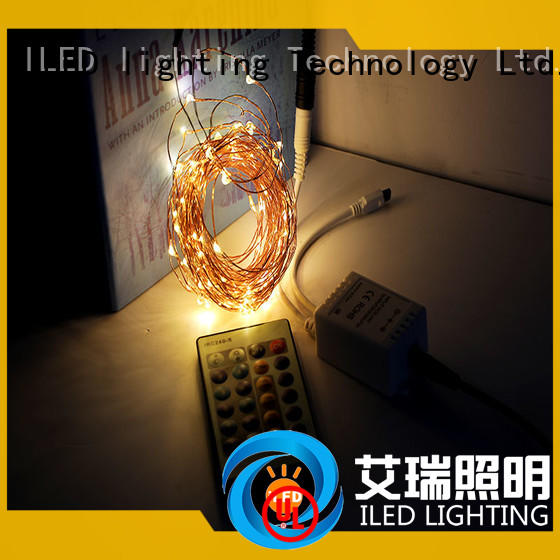 wire dimmable 200 multifunction ILED Brand plug in copper wire lights supplier