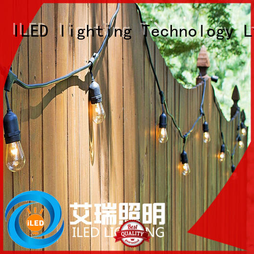ILED 110v party string lights supplier for patio