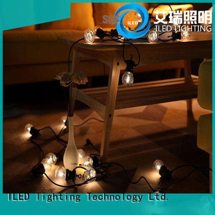 ILED white led garden string lights for festival