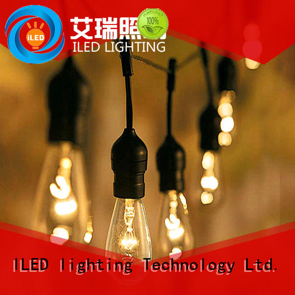 ILED 144m plug in string light supplier for wedding