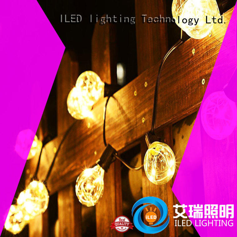 ILED commercial led string lights supplier for christmas