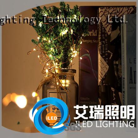 ILED led copper string lights manufacturer for christmas