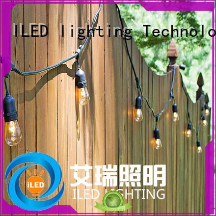 ILED 110v garden string lights lamp for patio