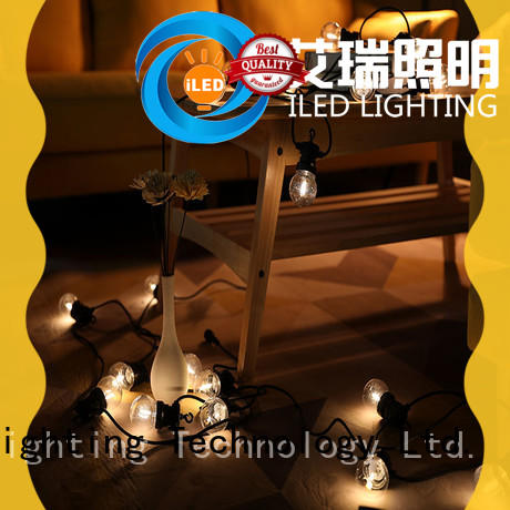 50 Festoon String Lights Warm White Patio Wedding Festival Lighting