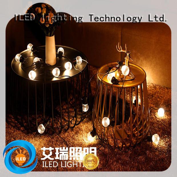 ILED commercial string lights design for indoor
