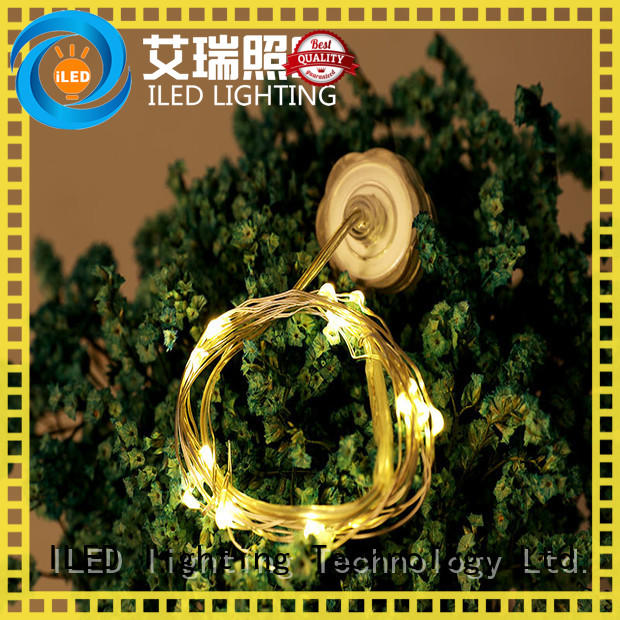 fairy copper wire lights battery operated wine for party ILED