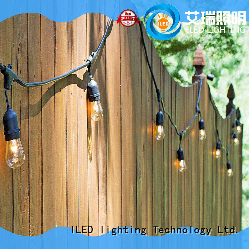 ILED hanging plug in string light lamp for household