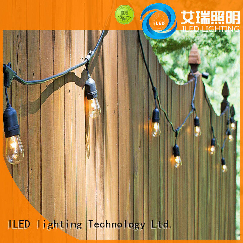 plug in festoon lights design for patio ILED