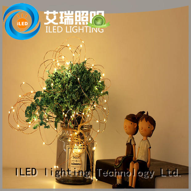 battery christmas lights for decoration ILED