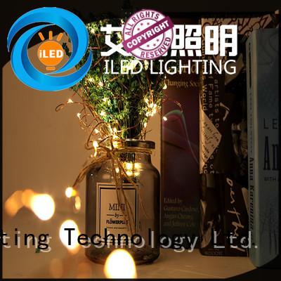 christmas fairy led christmas lights copper wire diamond string ILED Brand