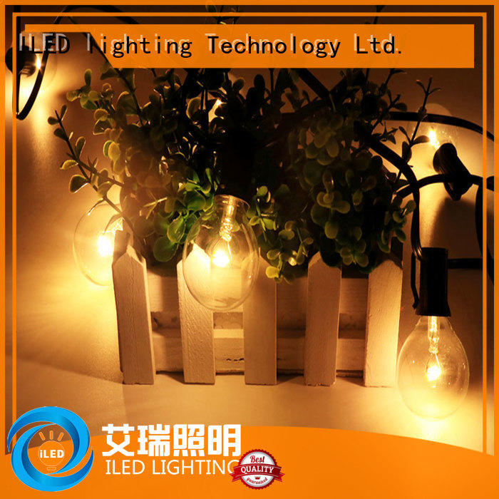 ILED warm commercial string lights lamp for christmas