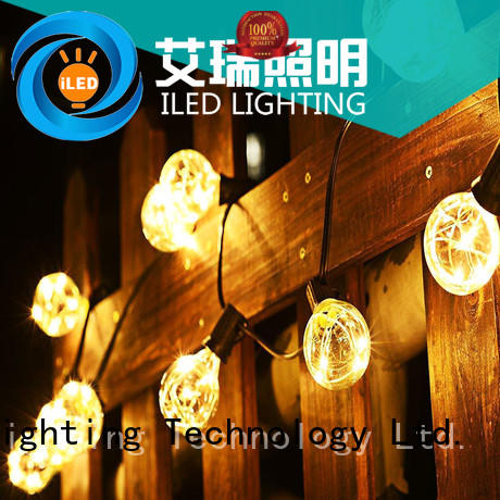 clear commercial led string lights bulbs for wedding ILED