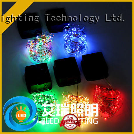 warm solar copper string lights manufacturer for patio