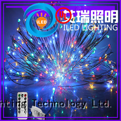 ILED environmental copper christmas lights supplier for decoration