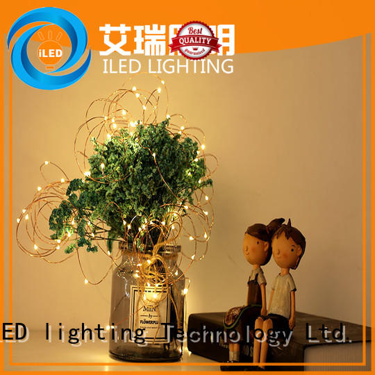 ILED battery operated fairy lights supplier for wedding