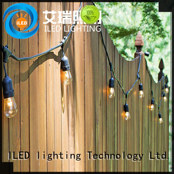 ILED festival backyard string lights manufacturer for wedding