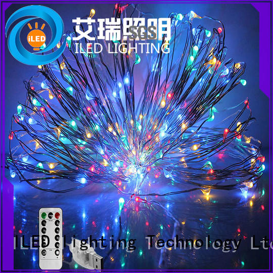 usb starry copper string lights lamp for wedding ILED