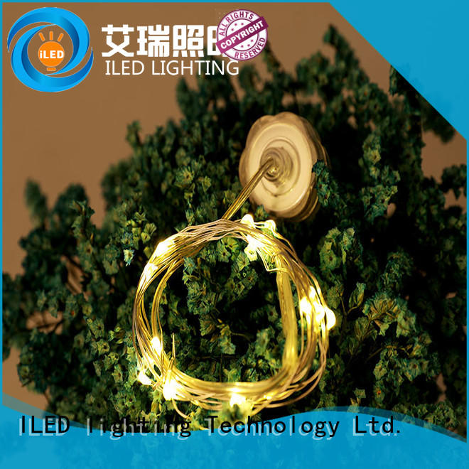 waterproof battery operated outdoor christmas lights lamp for decoration