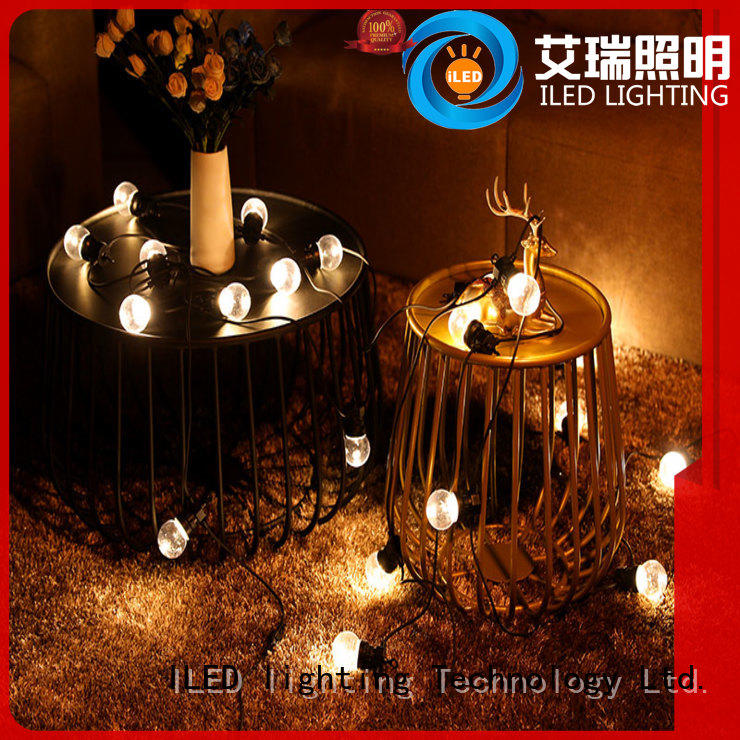 ILED festoon led cafe string lights supplier for patio