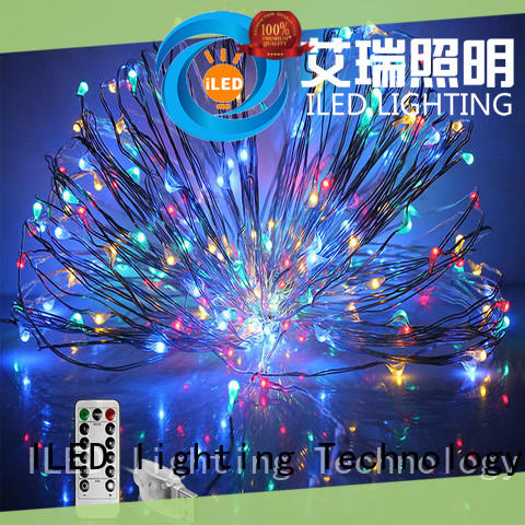 ILED copper christmas lights supplier for party