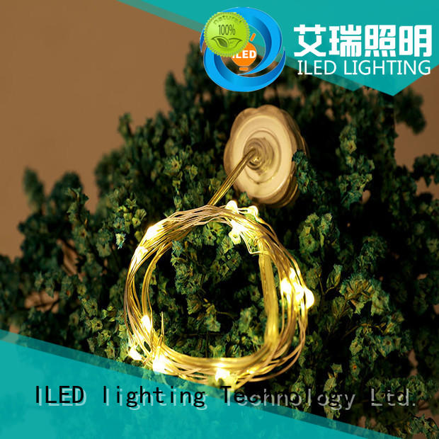 ILED powered battery wire lights customized for Christmas