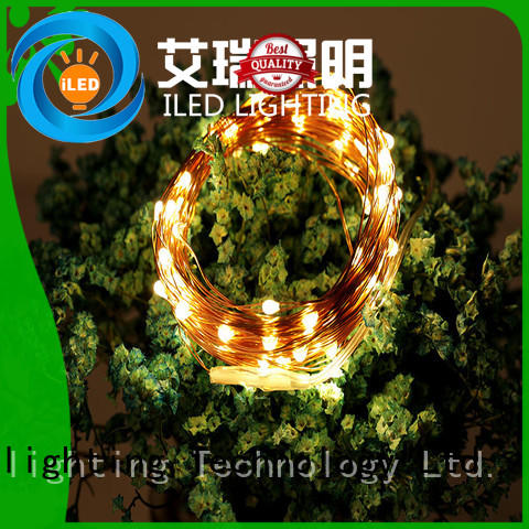 moon battery operated outdoor christmas lights strings for indoor ILED