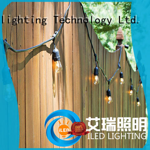 ILED commercial backyard string lights supplier for wedding