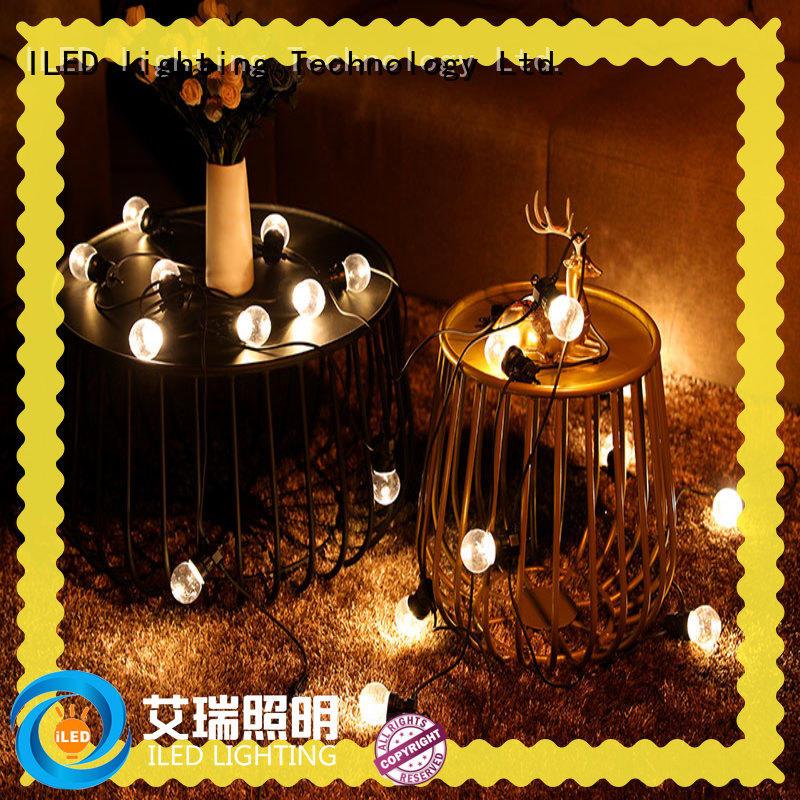 ILED festoon coloured festoon lights supplier for wedding