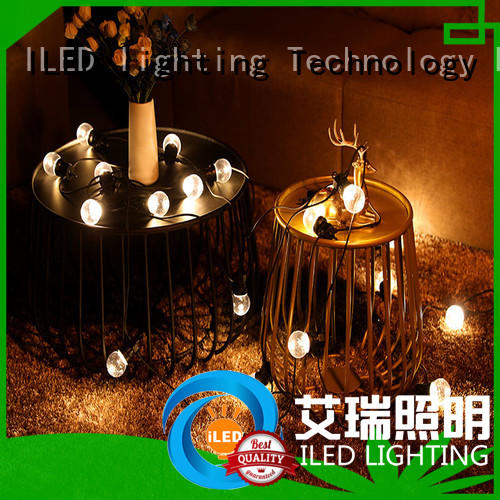 ILED festoon commercial led string lights design for outdoor