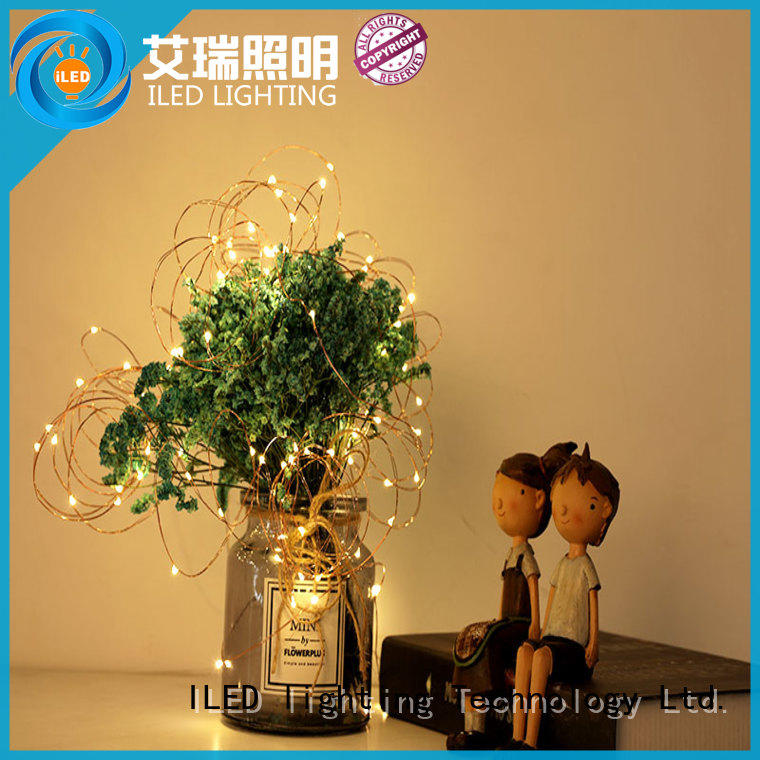waterproof battery operated fairy lights customized for party