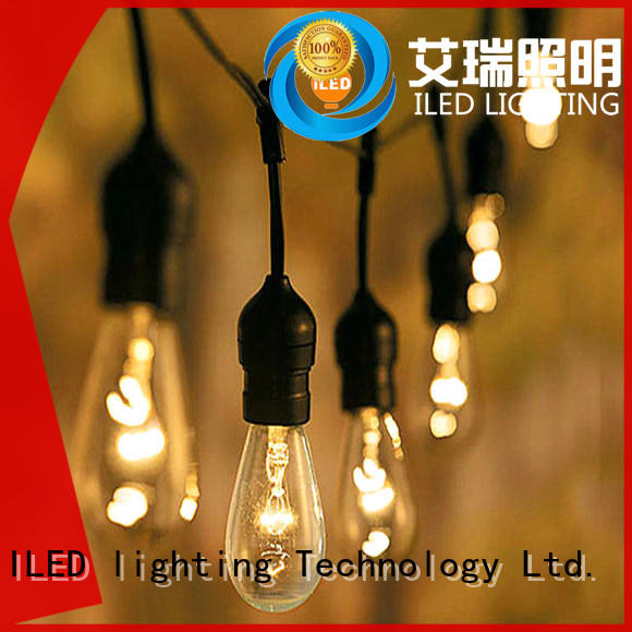 ILED festival garden string lights manufacturer for household