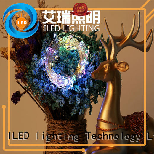 ILED copper wire christmas lights manufacturer for christmas