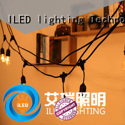 ILED backyard string lights party