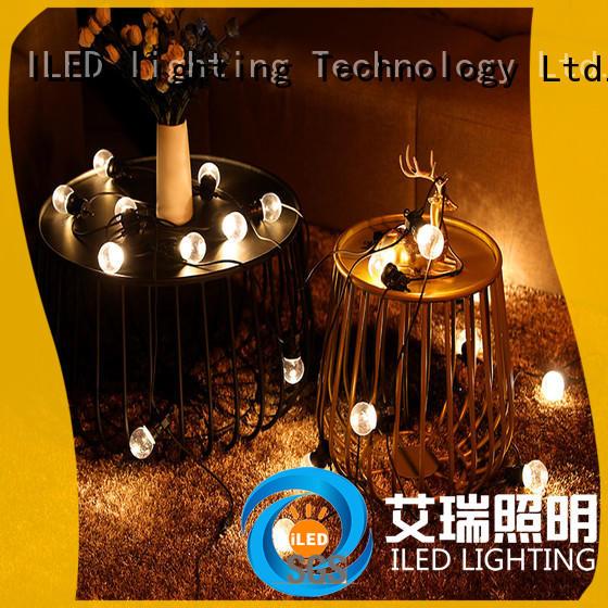 ILED novel festoon lights wedding supplier for patio