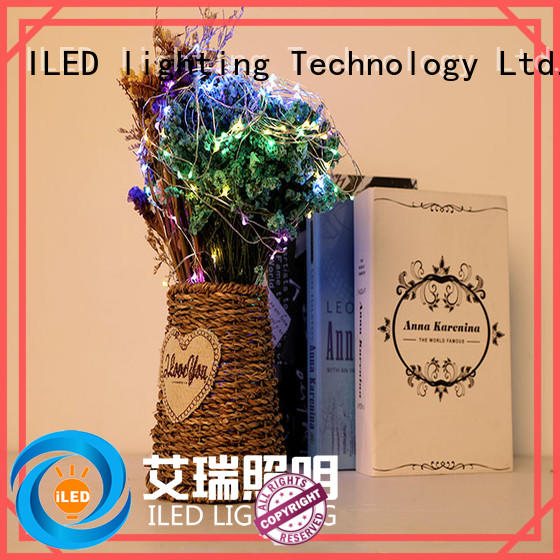 ILED waterproof battery christmas lights supplier for party