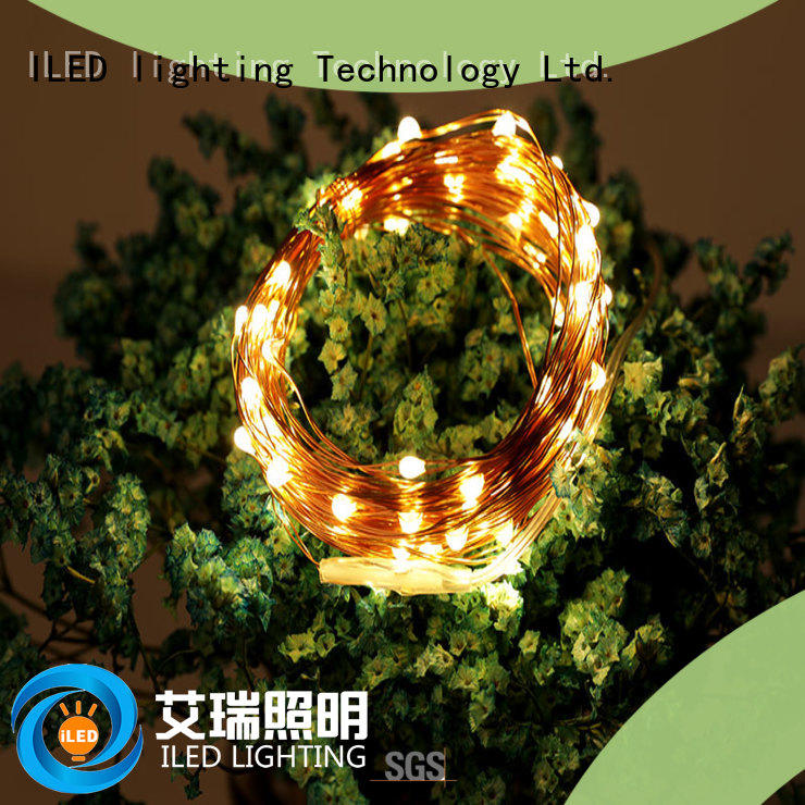 waterproof battery wire lights manufacturer for decoration