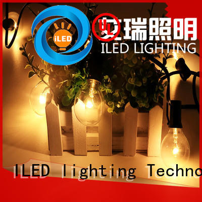 low voltage festoon lights wire ILED Brand commercial string lights