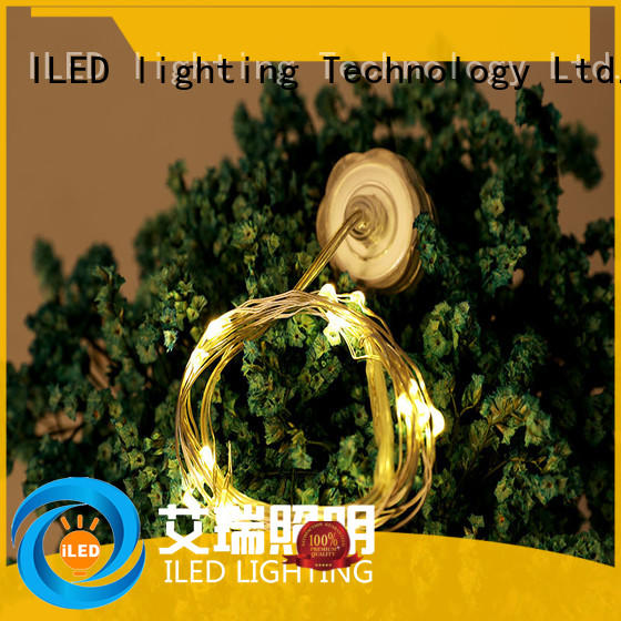 ILED operated battery christmas lights lamp for Christmas