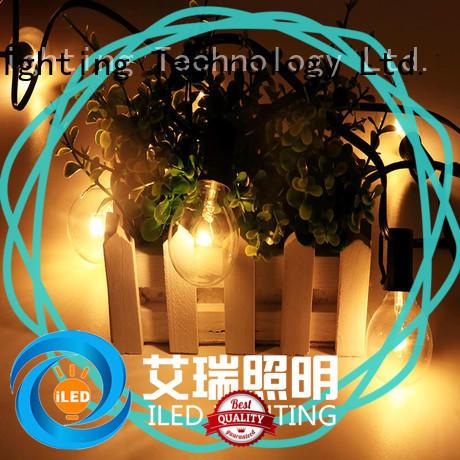 ILED white festoon string lights design for patio