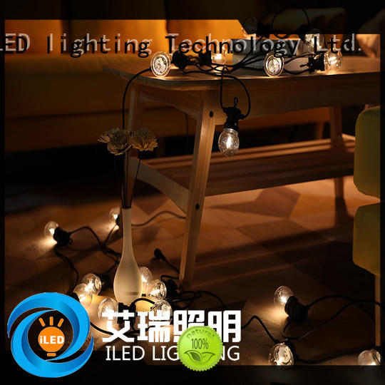 ILED standard hanging festoon lights supplier for festival