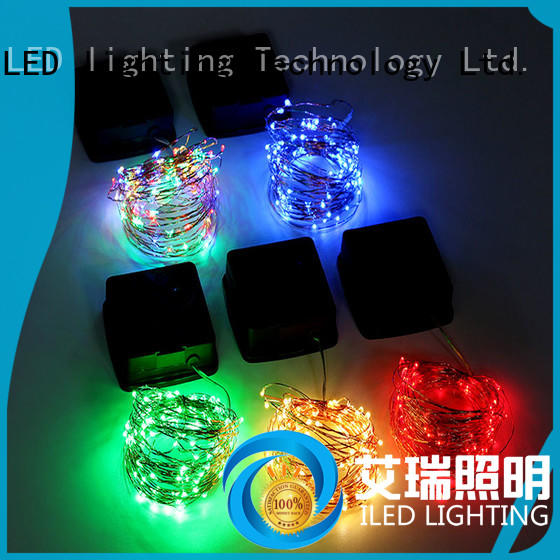 string solar copper wire string lights supplier for patio ILED