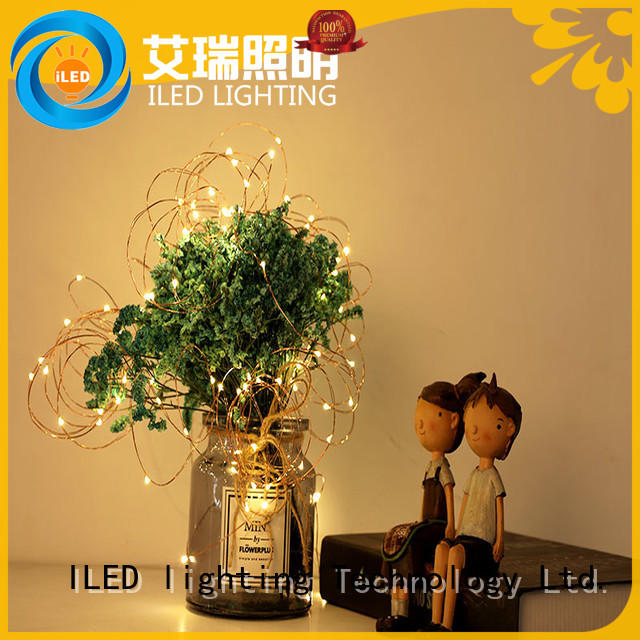 ILED remote battery operated outdoor christmas lights starry for indoor