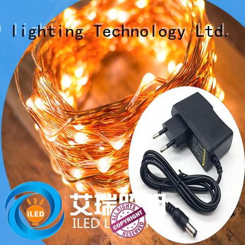 ILED plug in fairy lights lamp for party