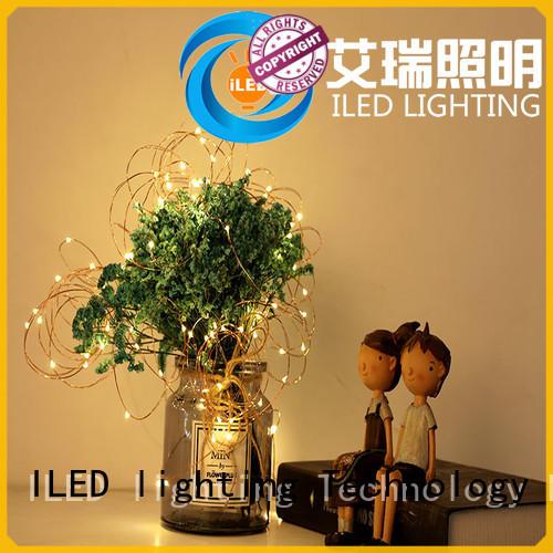ILED battery christmas lights lamp for wedding
