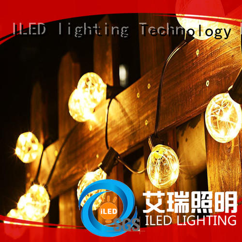 clear led garden string lights lamp for indoor ILED