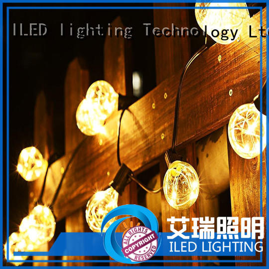 commercial string lights supplier for patio ILED